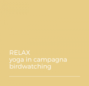 RELAX - yoga in campagna - birdwarching