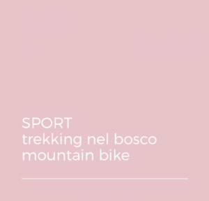 SPORT - trekking nel bosco - mountain bike