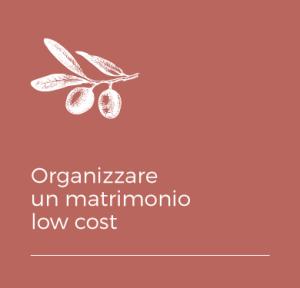 Organizzare un matrimonio low cost